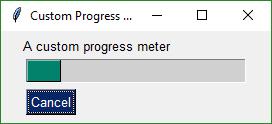 custom progress meter