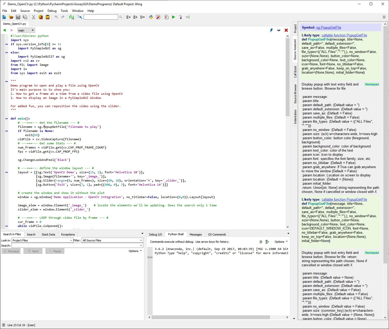 Spyder IDE causes EasyPrint debug window says to hang after