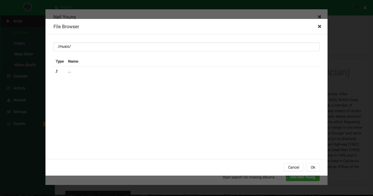 Root Folder Not Mapping · Issue #88 · lidarr/Lidarr · GitHub