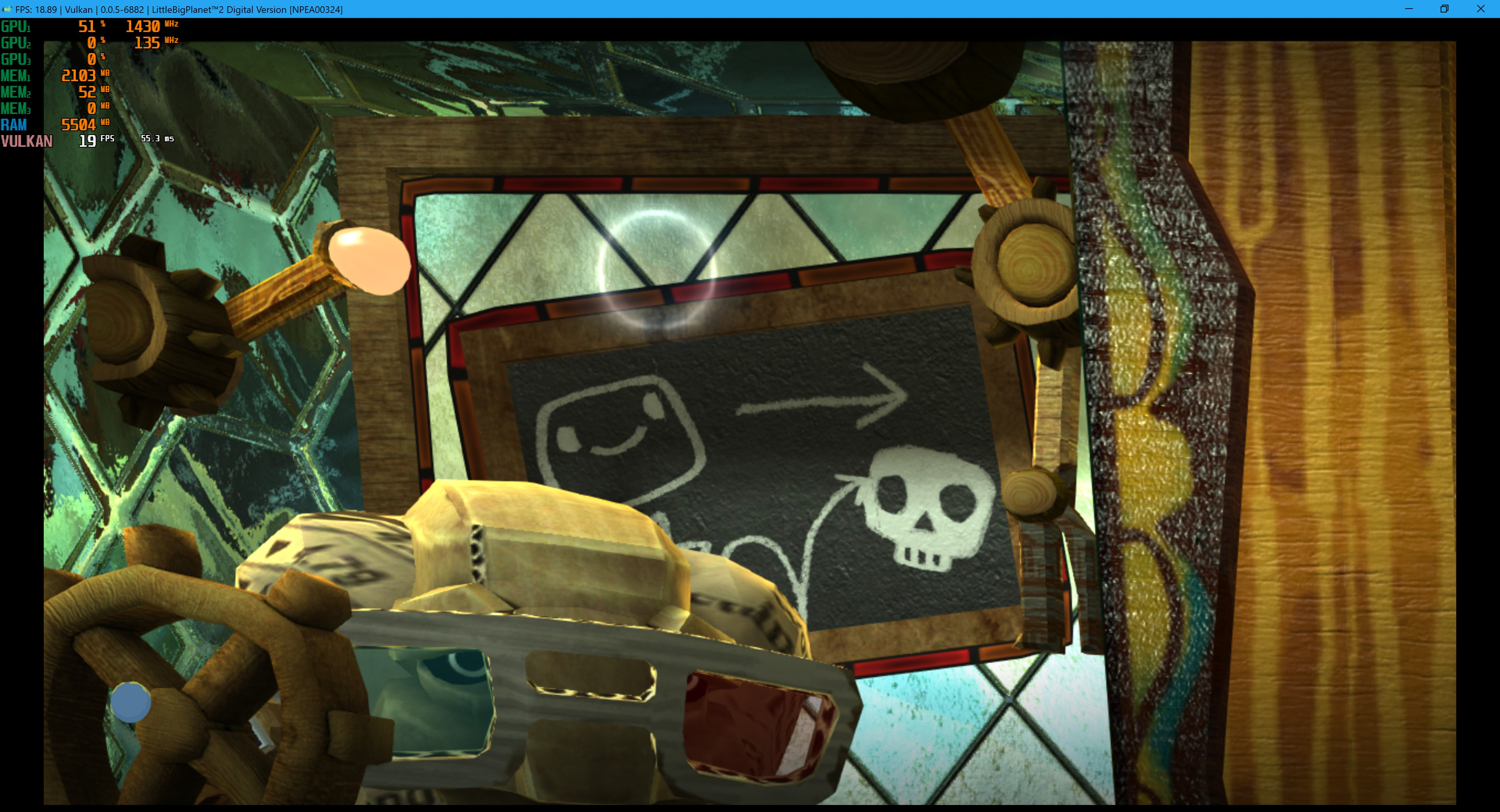 Little Big Planet 2 WCB Regression+Scailing Broken · Issue #4680