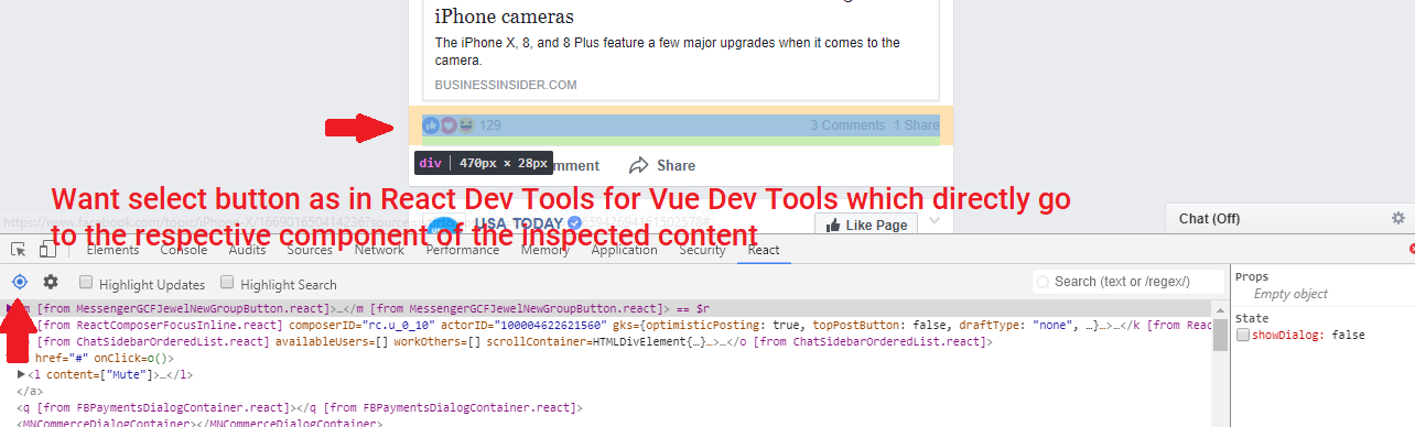Devtools toolbar icon and popover warning if Vue is out-of-date