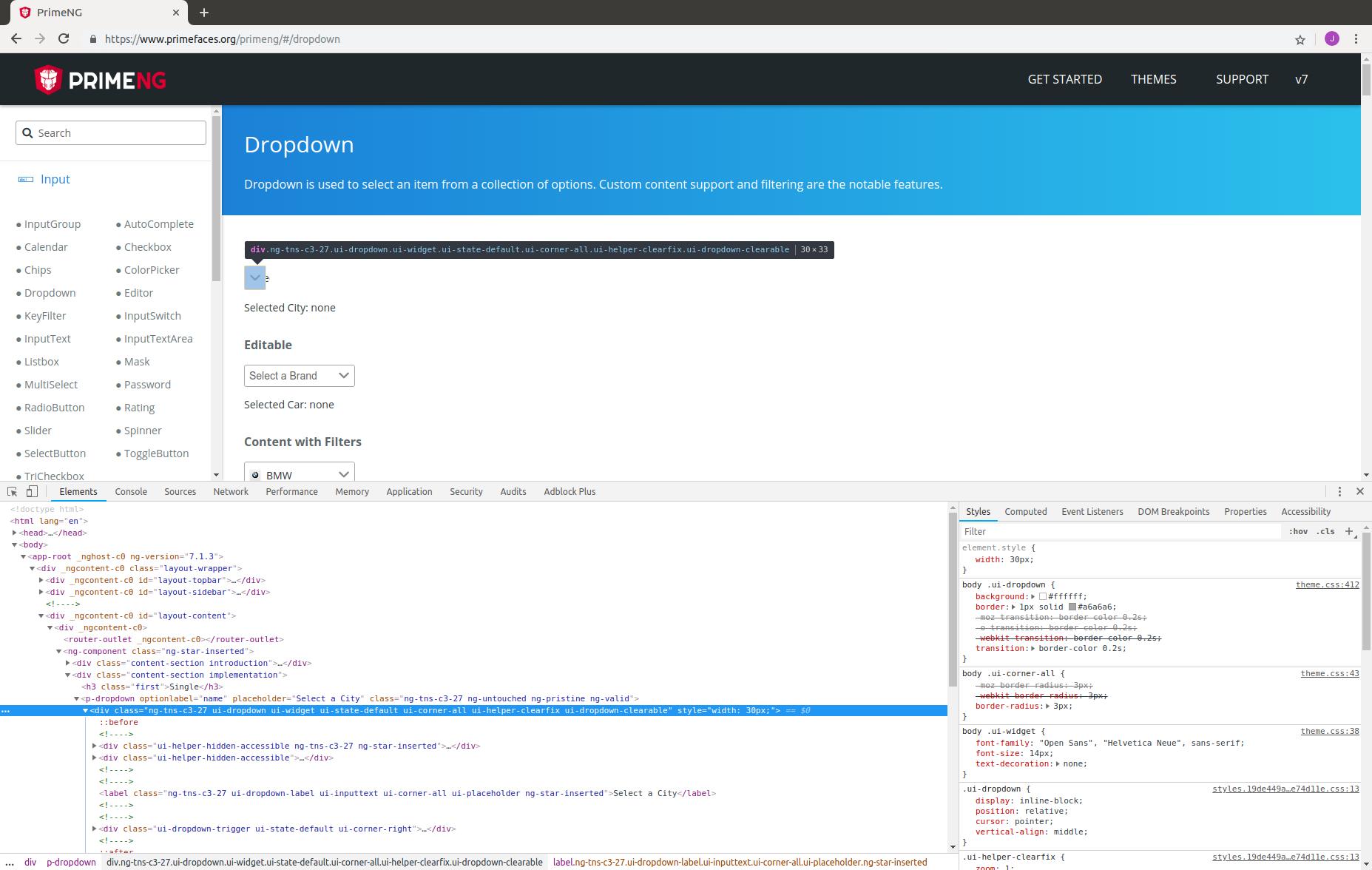 Dropdown autoWidth issue on Ubuntu Chrome & Chromium · Issue #7204