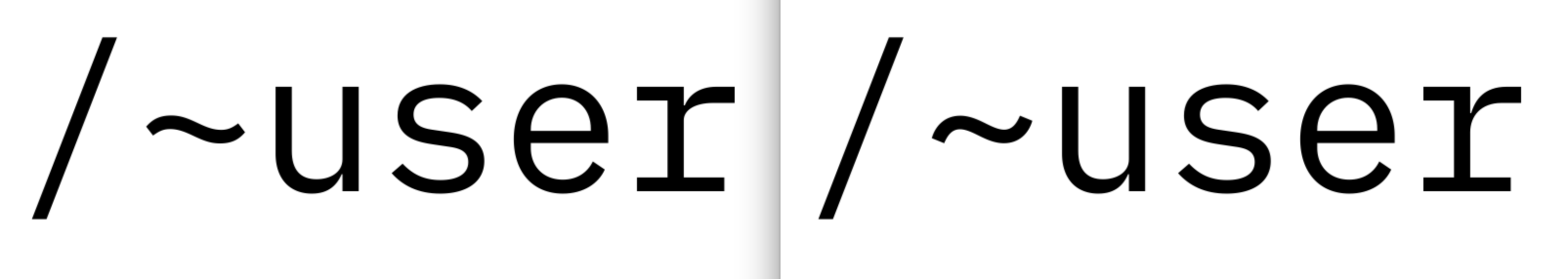 Consider a more curvy tilde · Issue #99 · IBM/plex · GitHub