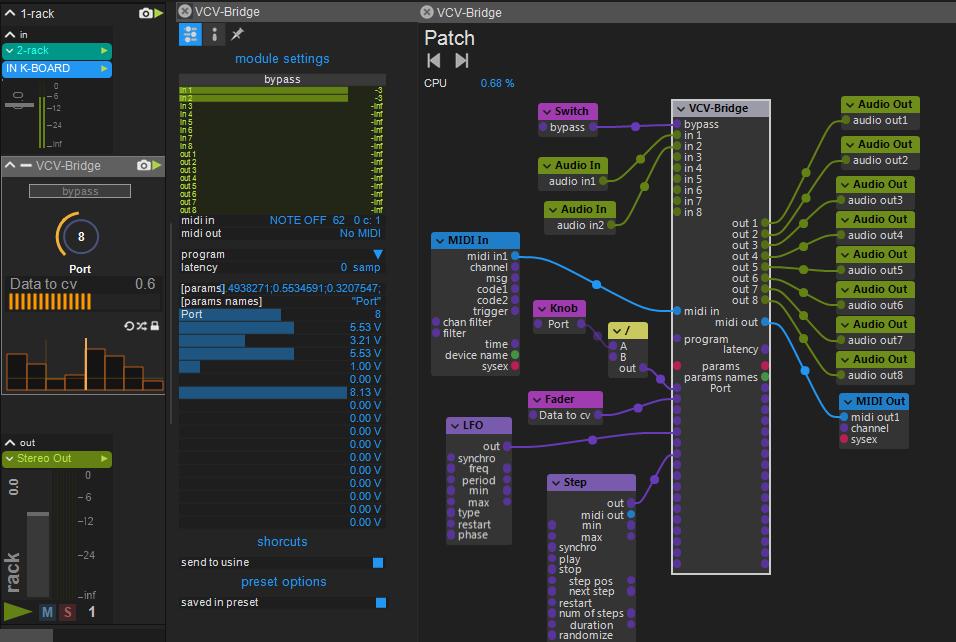 VCV Bridge + VST/AU/AAX?/LV2? Bridge plugins -