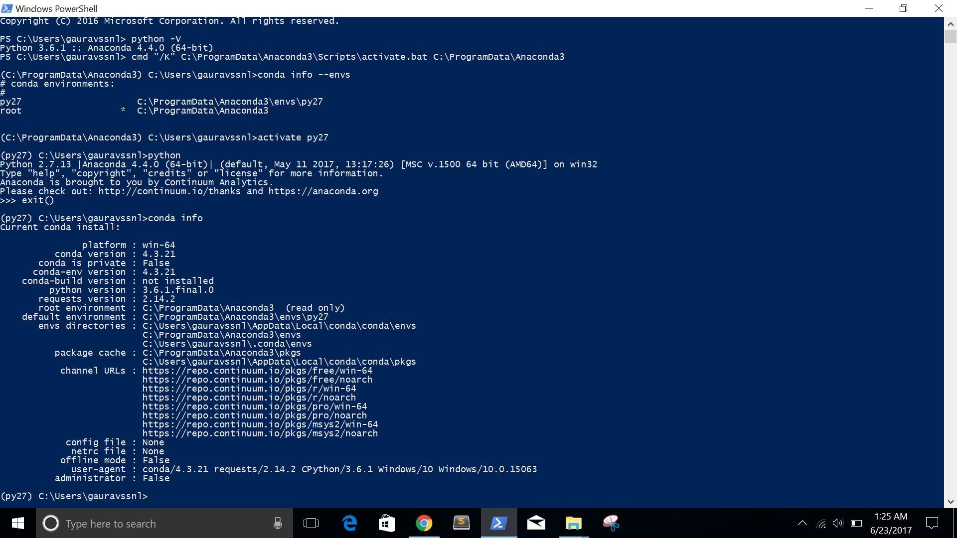 conda install tensorflow windows python3 6