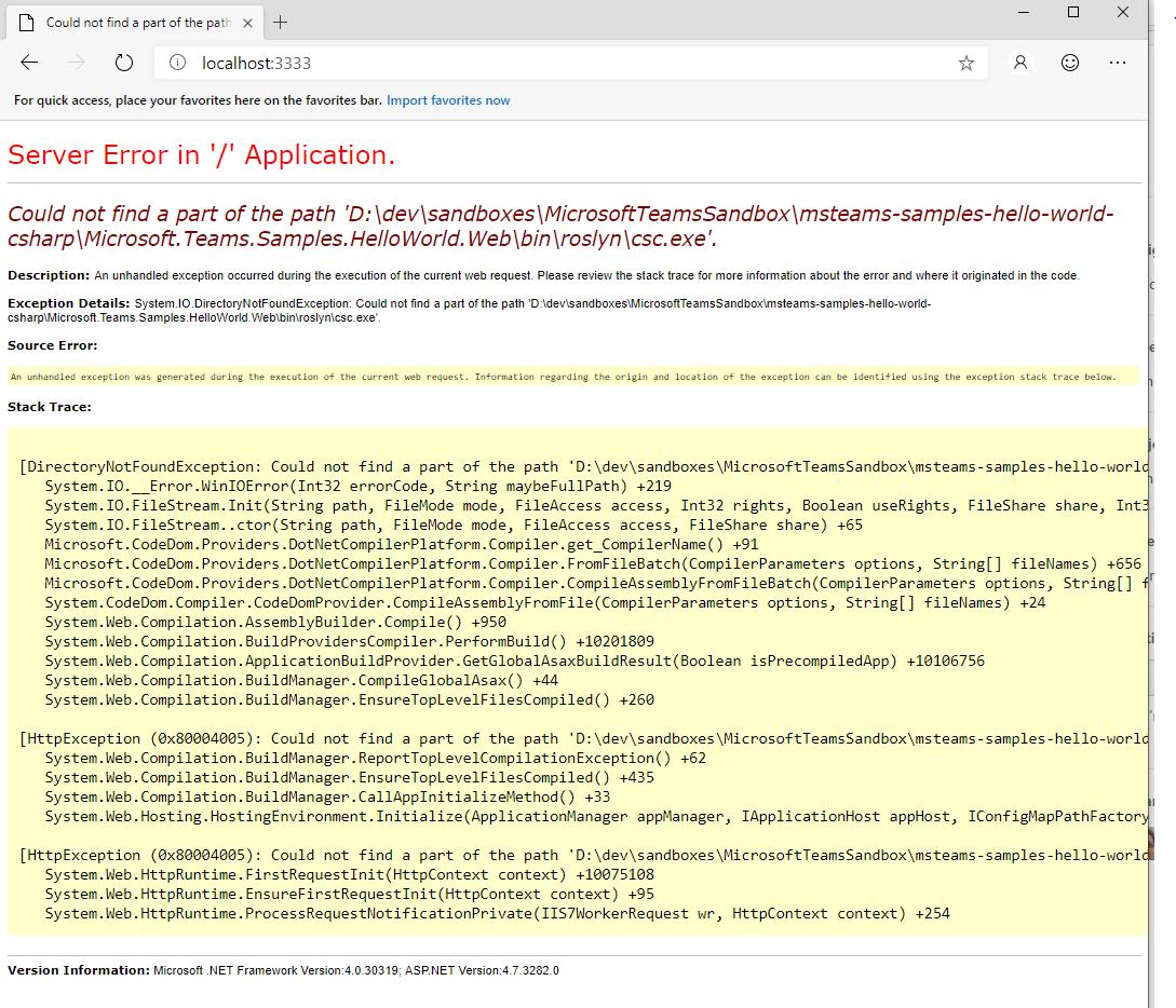 VS2019? Or maybe something else    · Issue #697 · MicrosoftDocs