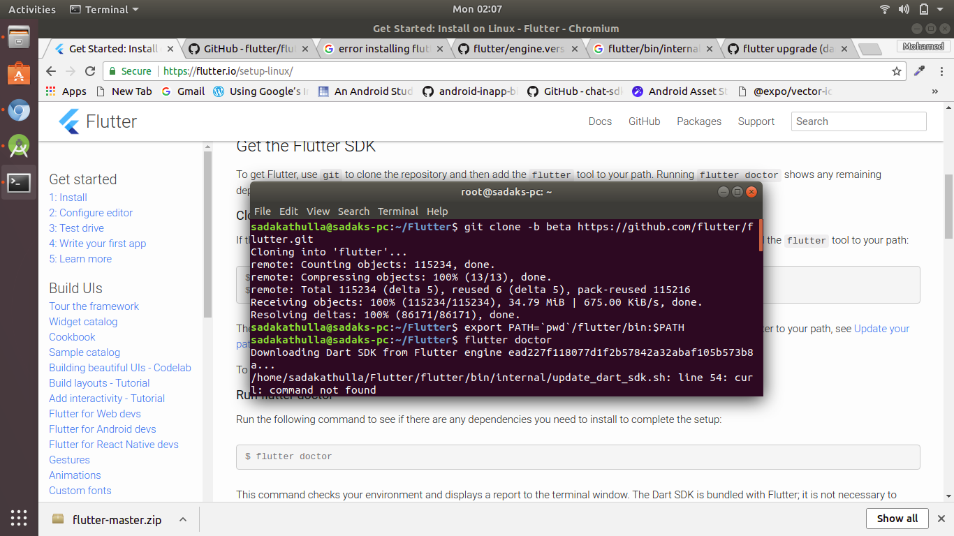 repackage_gradle_wrapper sh should check if curl is present