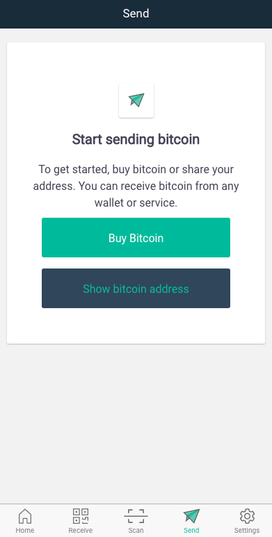 can i send bitcoin to coinbase