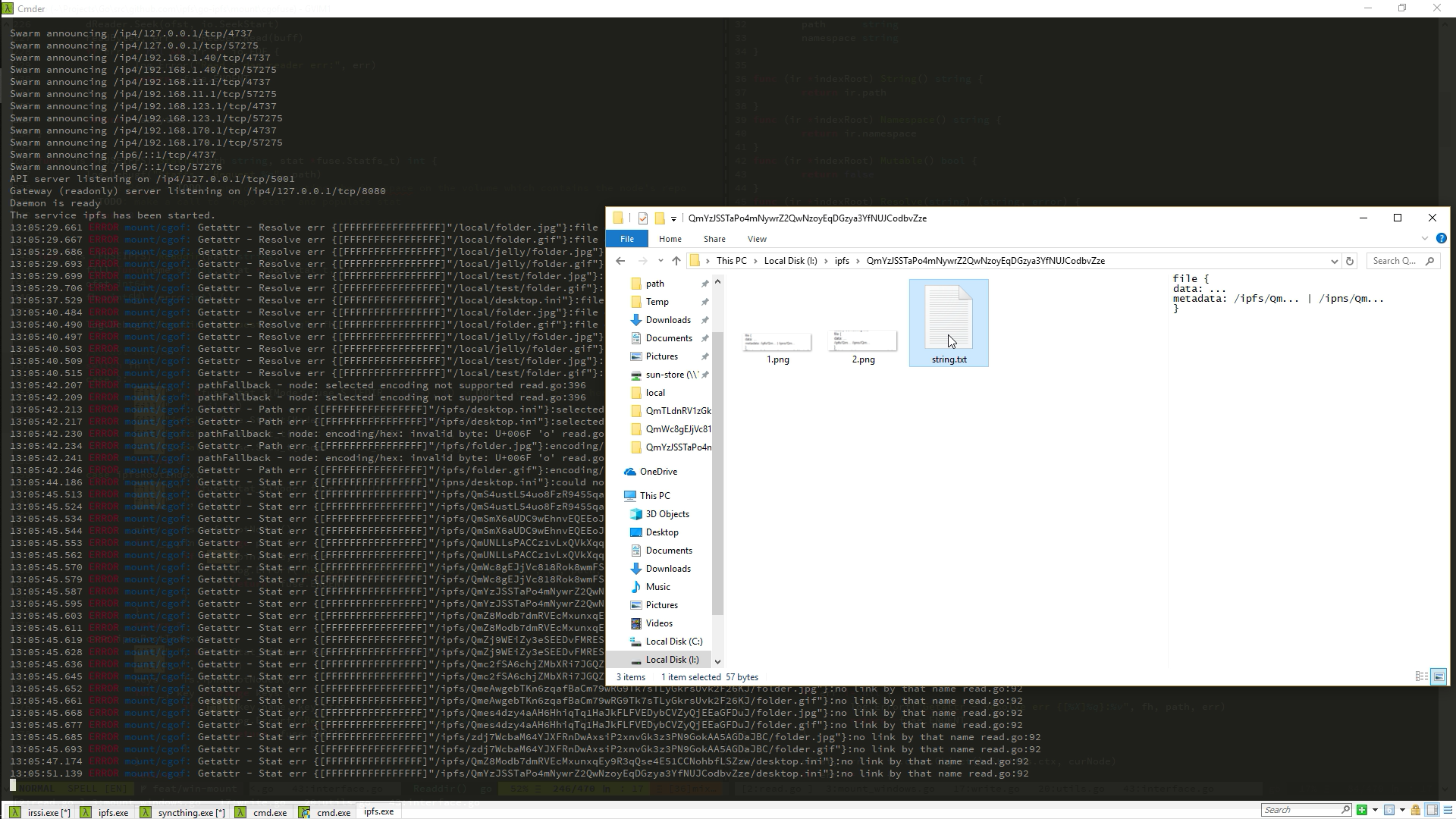 Windows mount support · Issue #5003 · ipfs/go-ipfs · GitHub