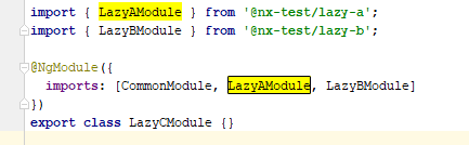 0 9 1 tslint lazy load modules check not working (when