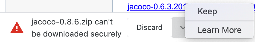 jacoco-downloading