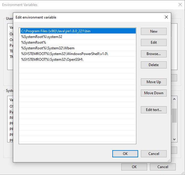 Failed to create java virtual machine   · Issue #6353