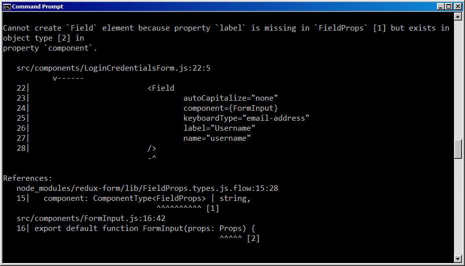 FieldProps Flow Error redux-form@8 2 0 · Issue #4434 · erikras/redux