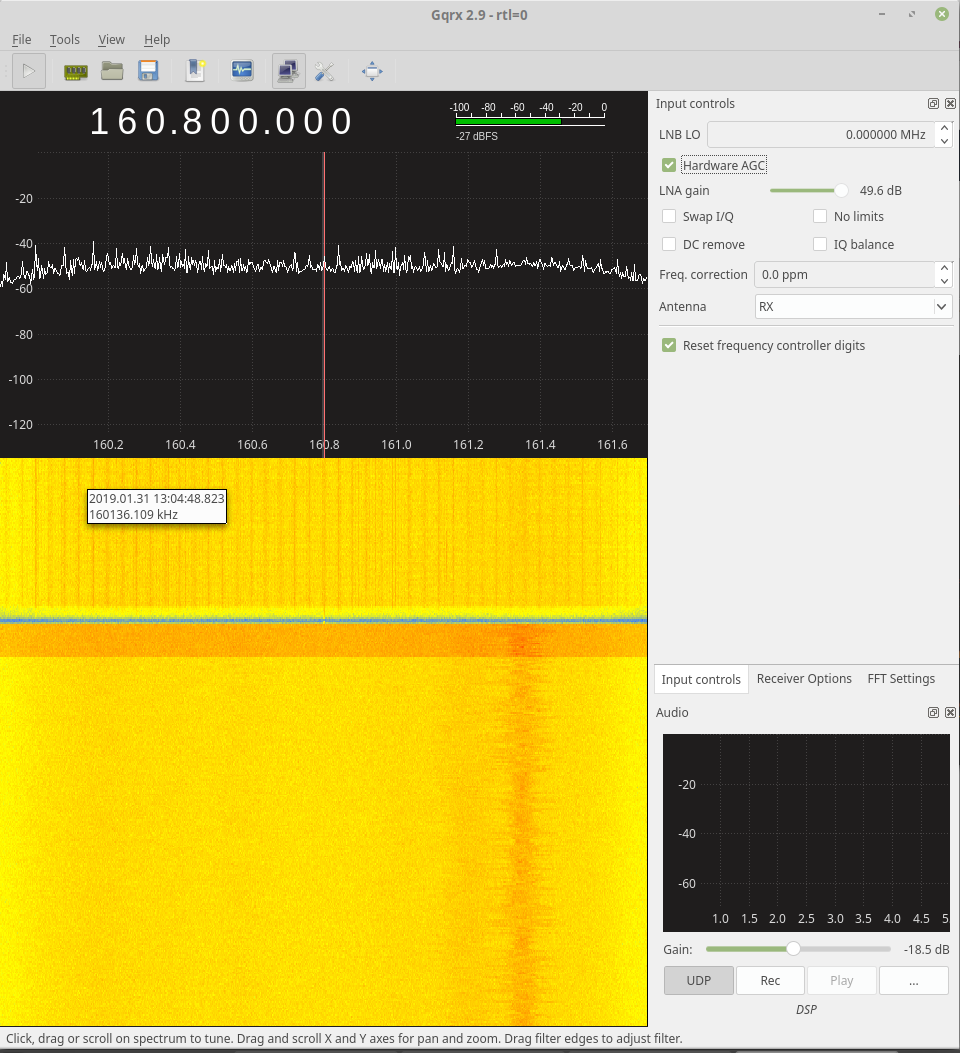 Hardware AGC has to be reset when starting GQRX · Issue #676 · csete