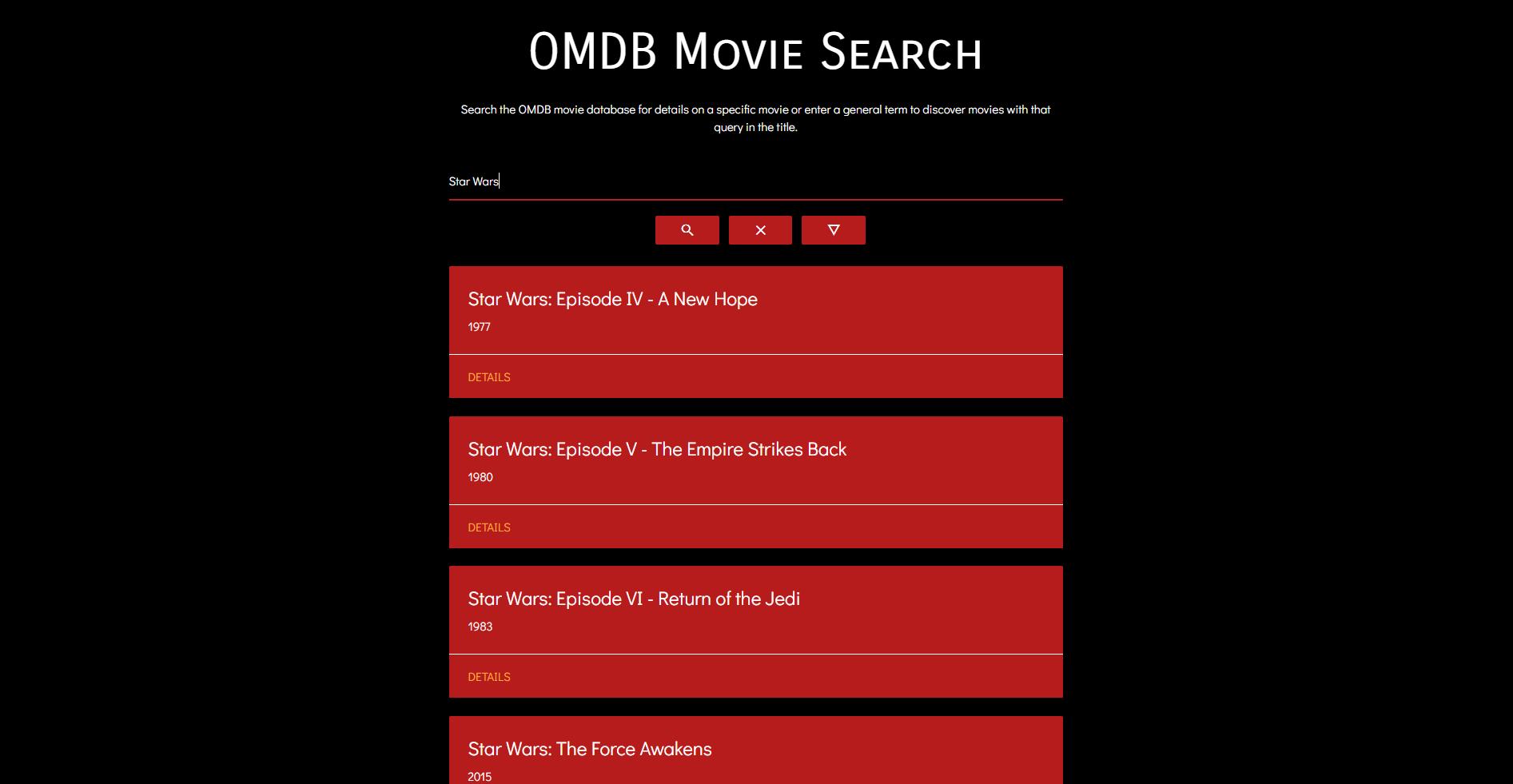 GitHub - TheCodingCarlson/react-omdb-app: A simple React app