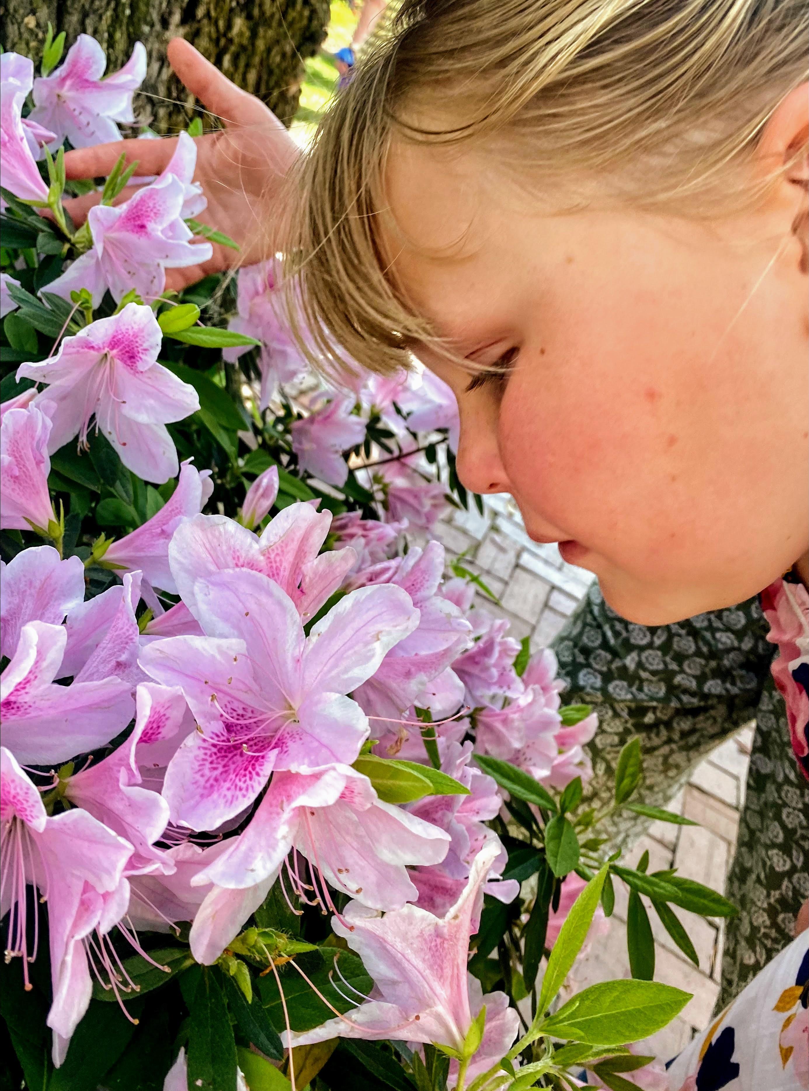 Lorelei with Hyacinths