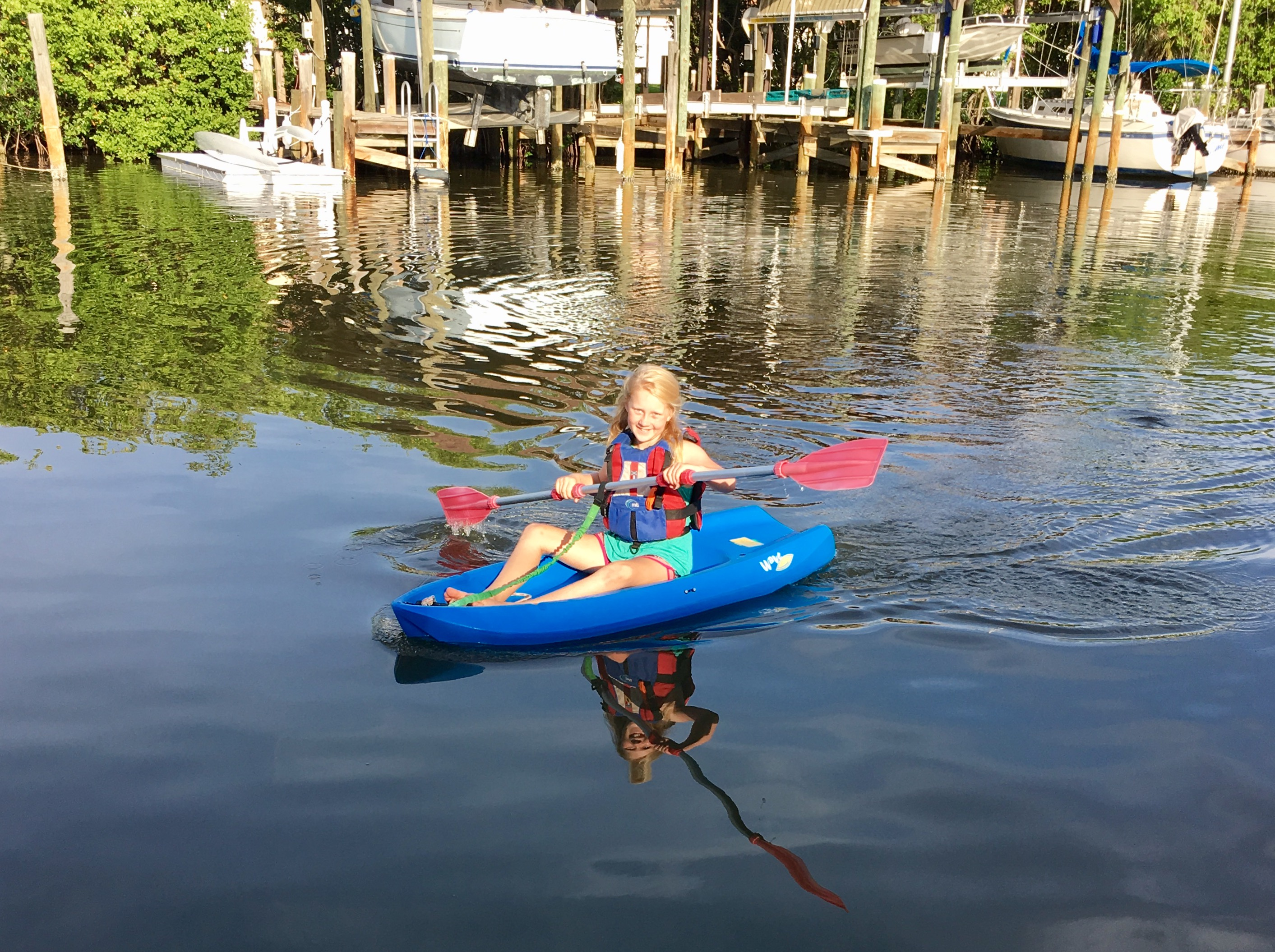 Audrey Kayaking