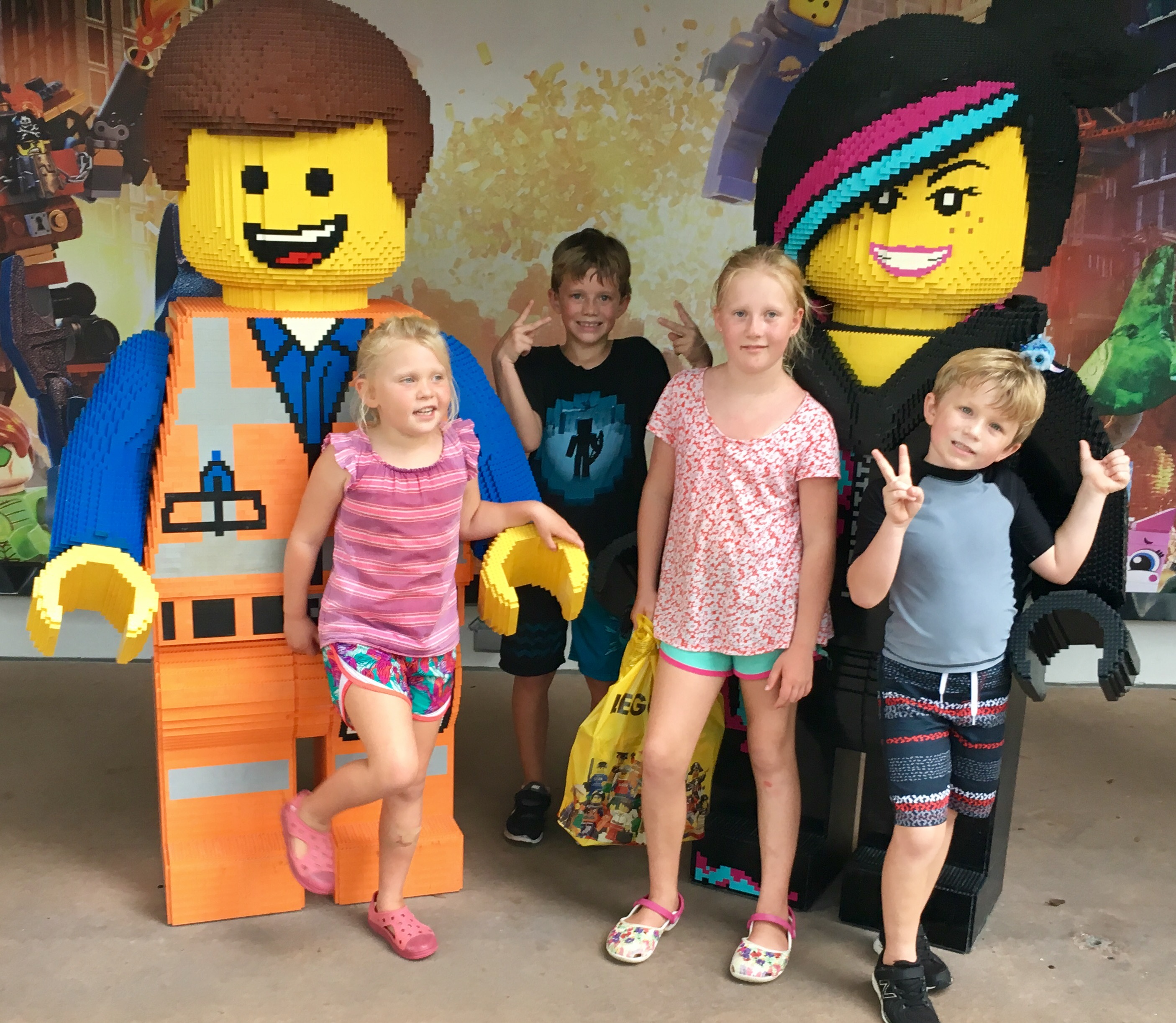 Legoland with cousins