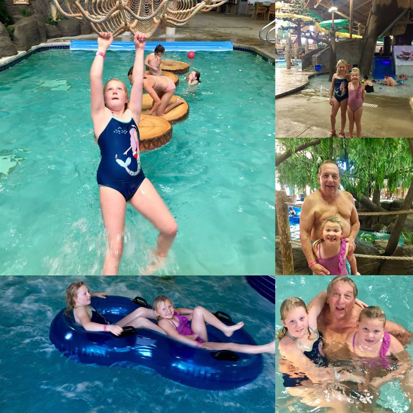 water park colage