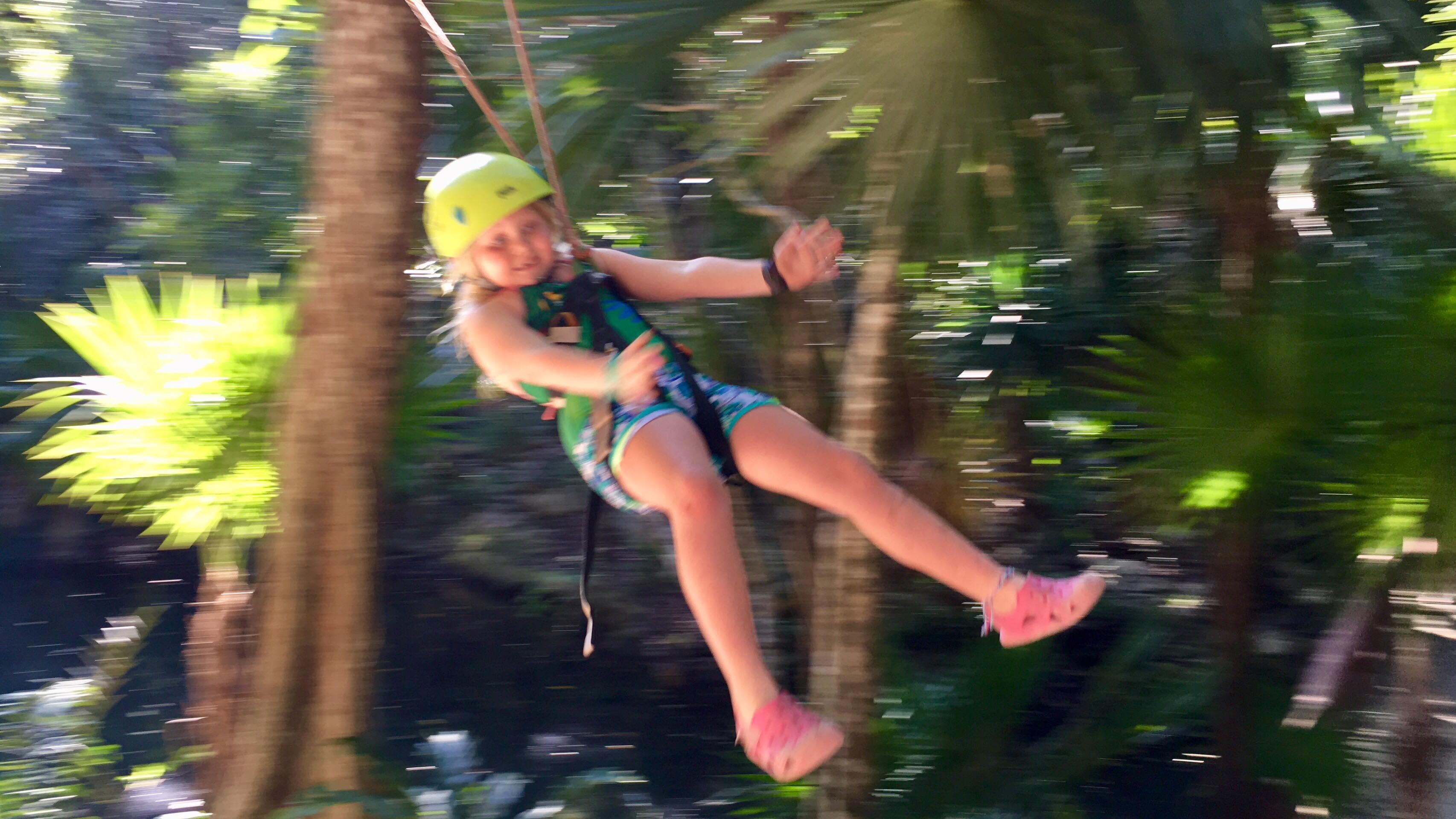 Loey ziplining