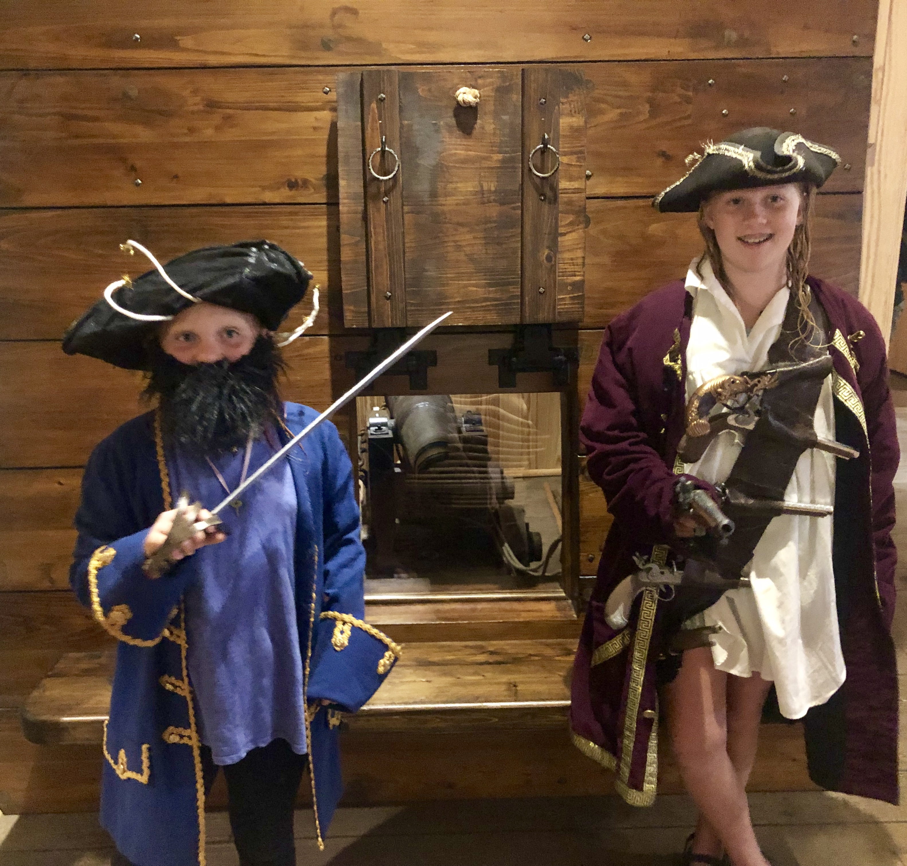 Pirates at the Museum