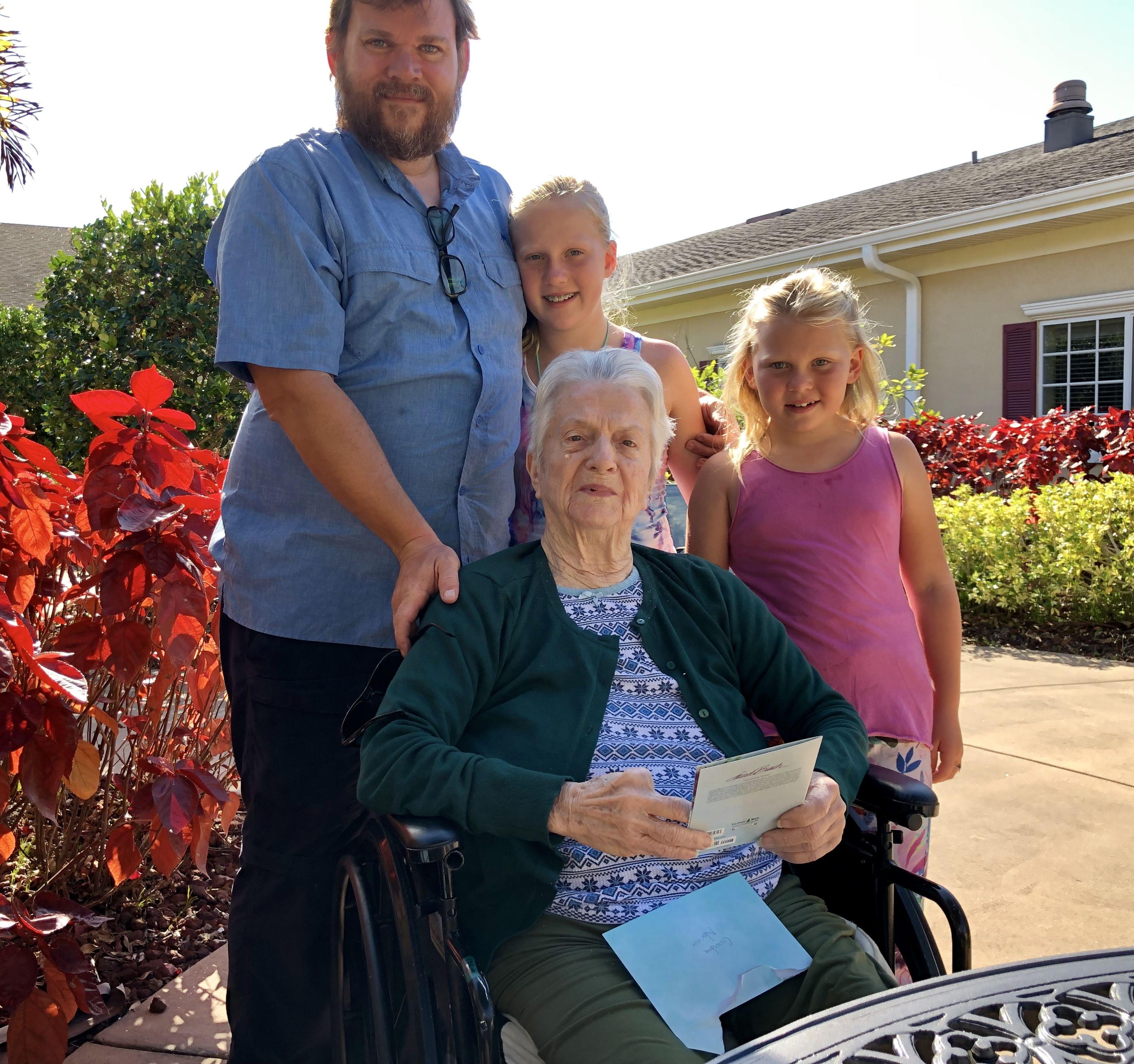 with Grandma Nornor