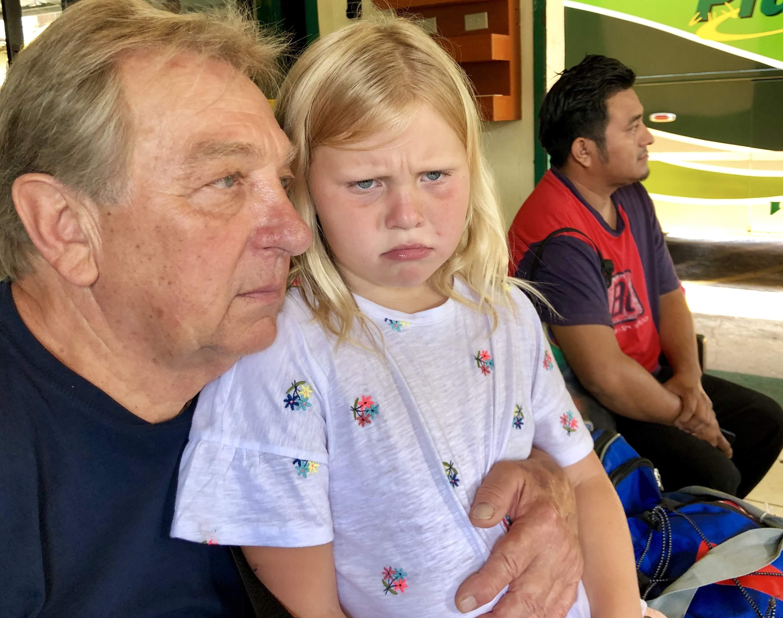 Lorelei sad that Grampsy is leaving