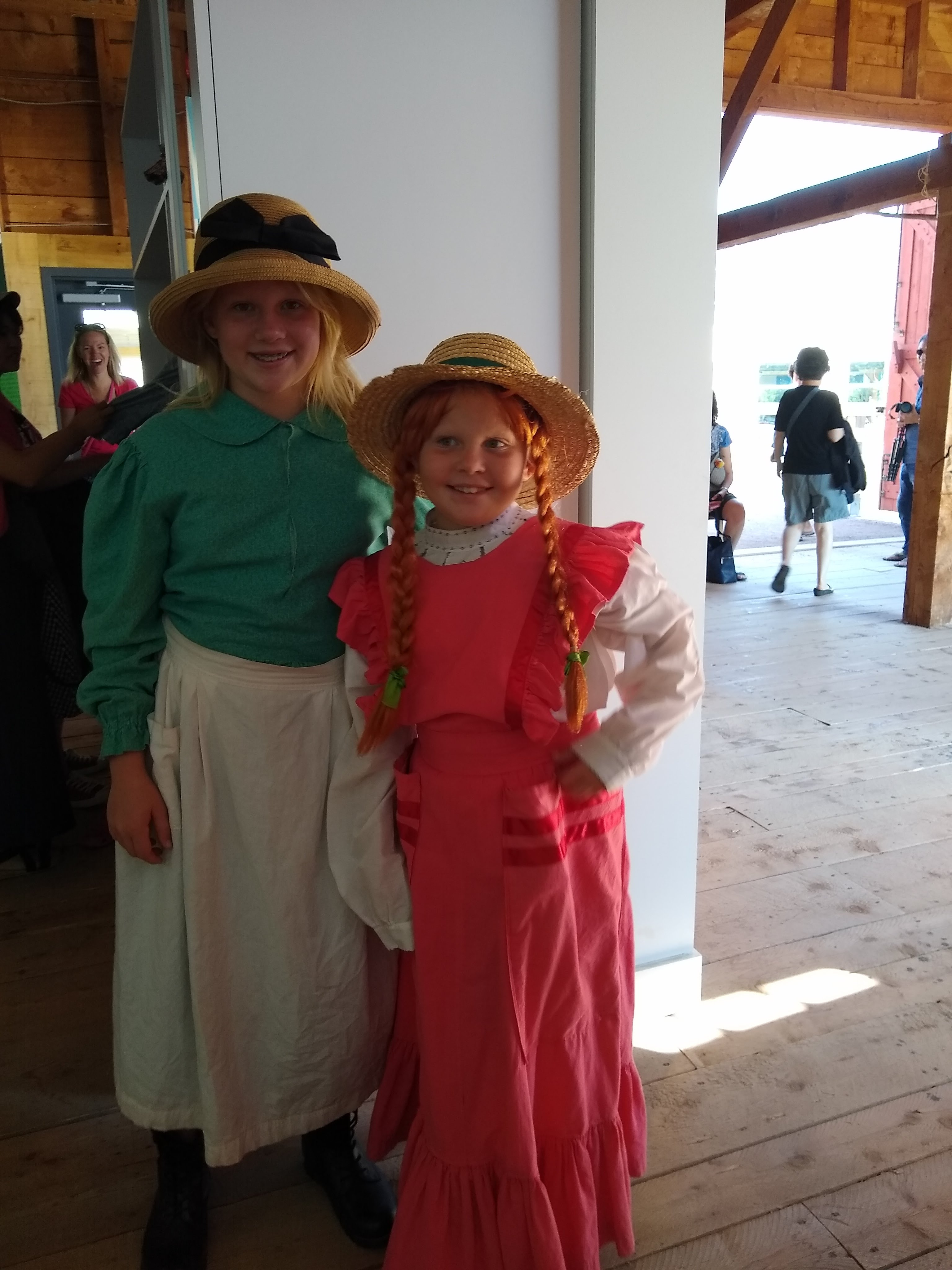 Audrey and Lorelei as Anne