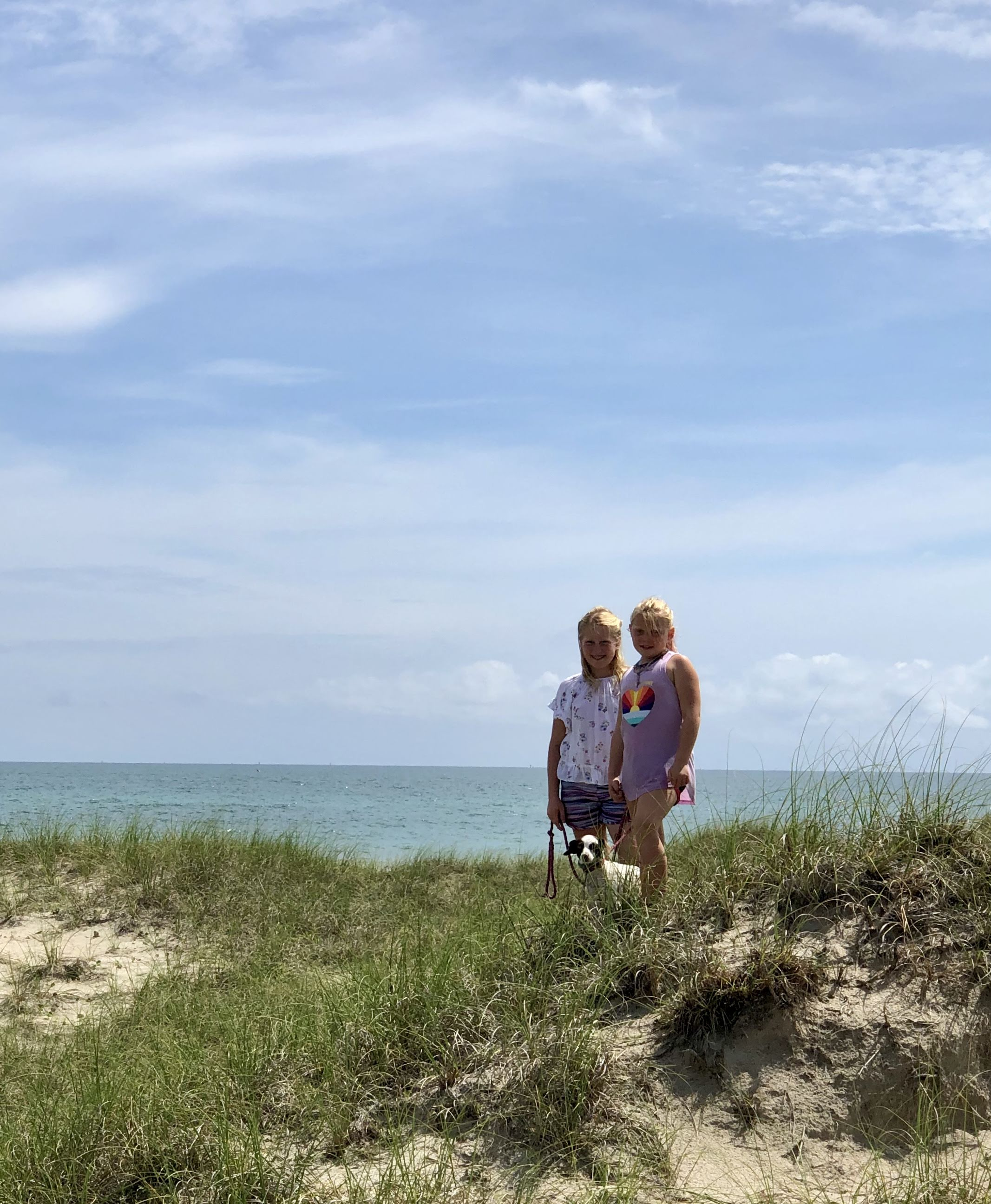 Girls on the dunes