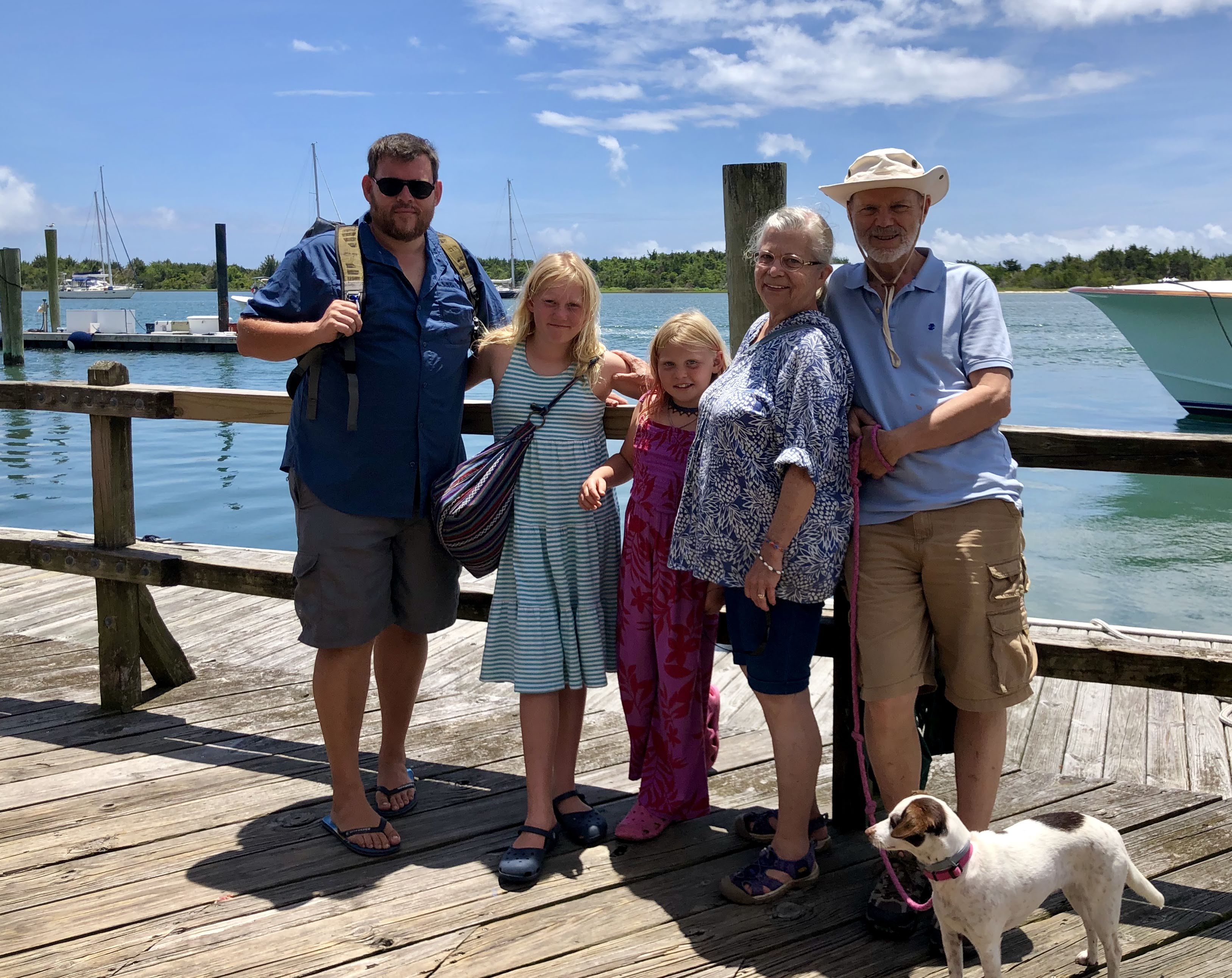 GranMiri and Papa's Visit to Beaufort