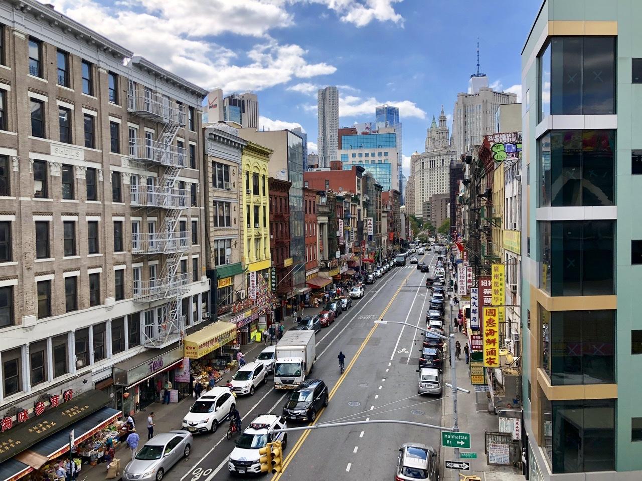 skyview of chinatown