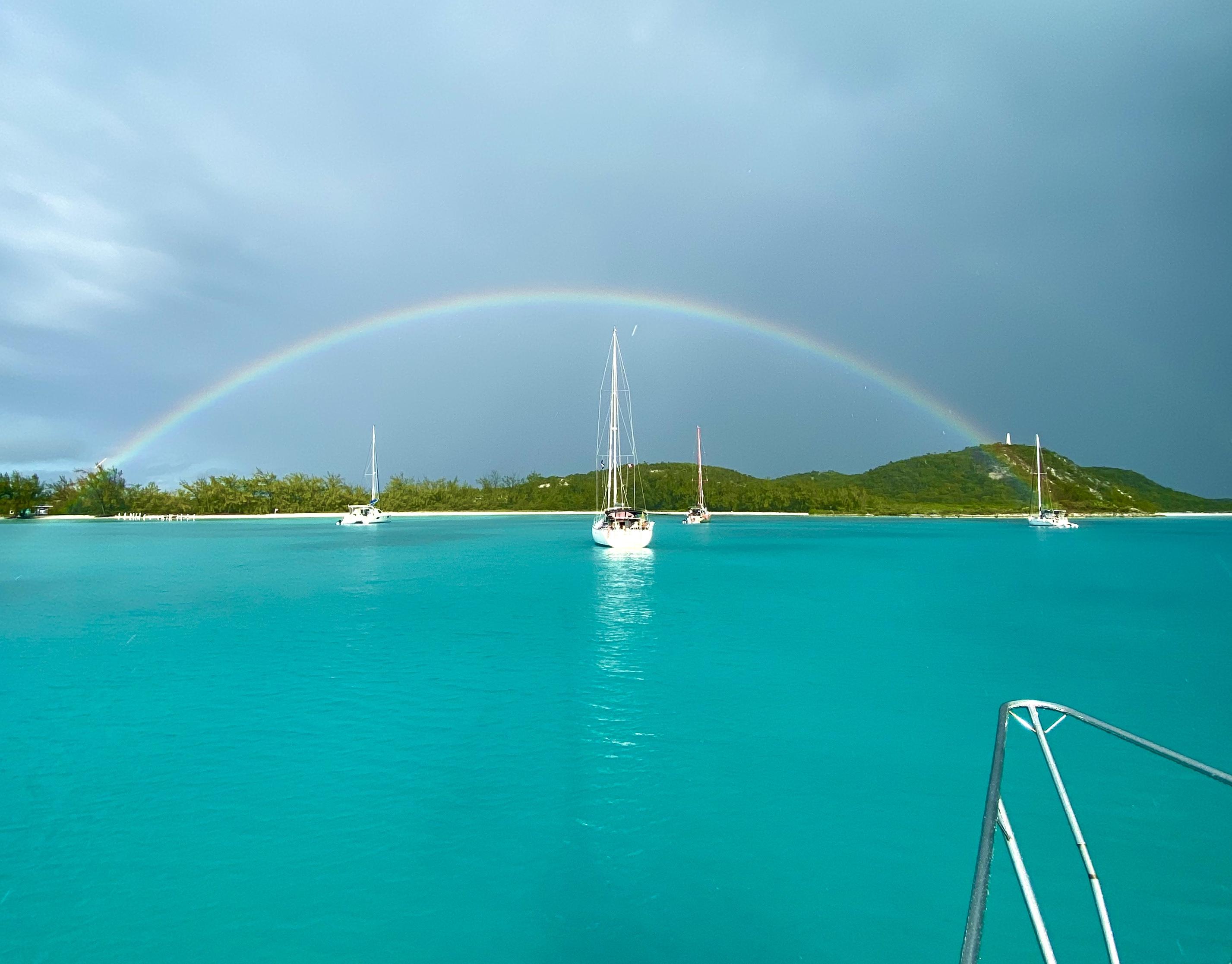 Rainbow over Monument Beach
