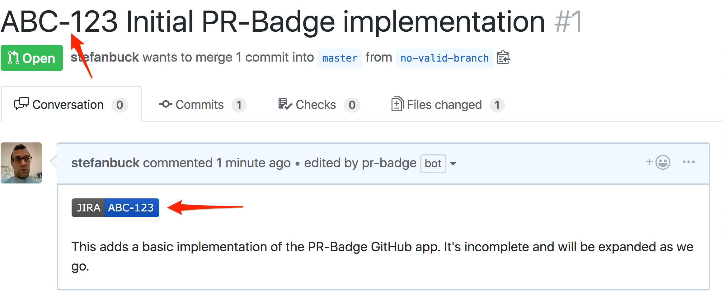 Preview Pull Request title
