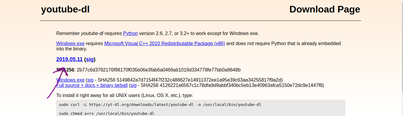 Package managers like apt doesn't download latest version of