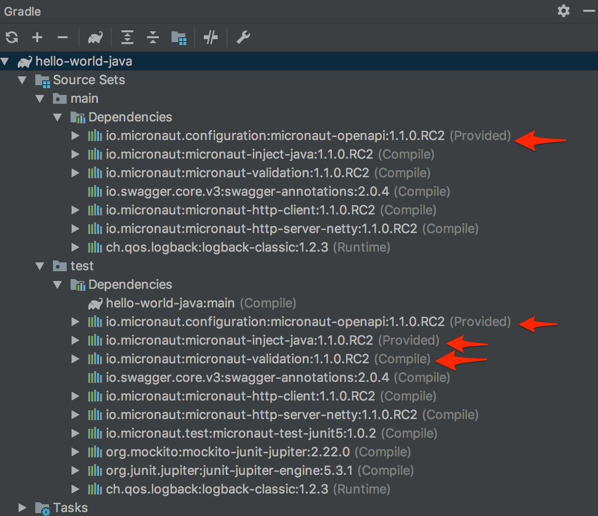 Upgrade gradle-build template to Gradle 5 x · Issue #124 · micronaut