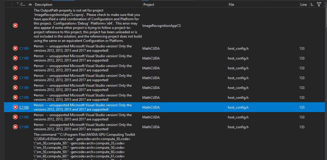 MathCUDA compile error  · Issue #3525 · microsoft/CNTK · GitHub