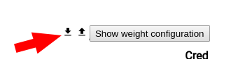 Show weight configuration