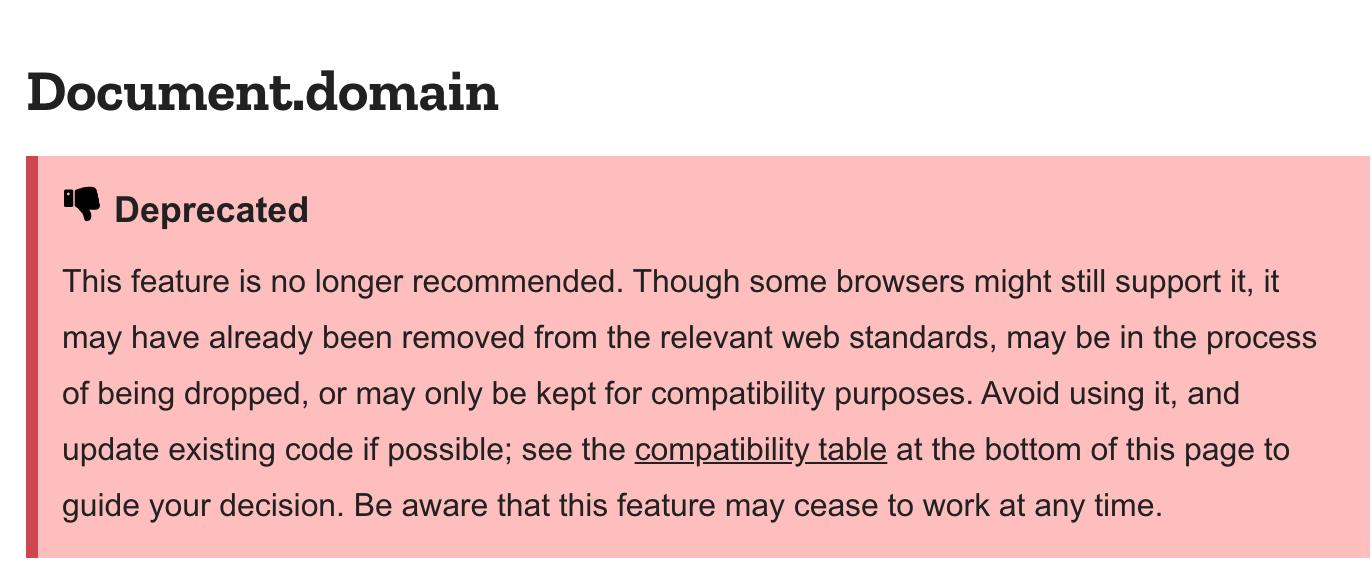 Document.domain