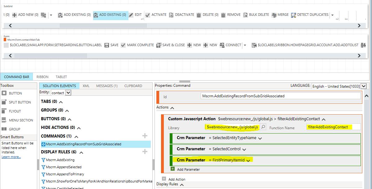 Dynamics 365 v9 0 · PaulNieuwelaar/filteraddexisting Wiki · GitHub