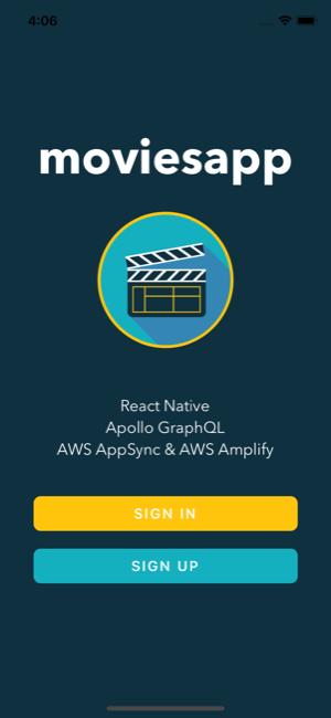 GitHub - pjay79/MoviesApp: React Native Movies App: AWS