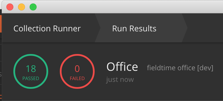 Feature Request: Remove the red 0 failed runner icon when