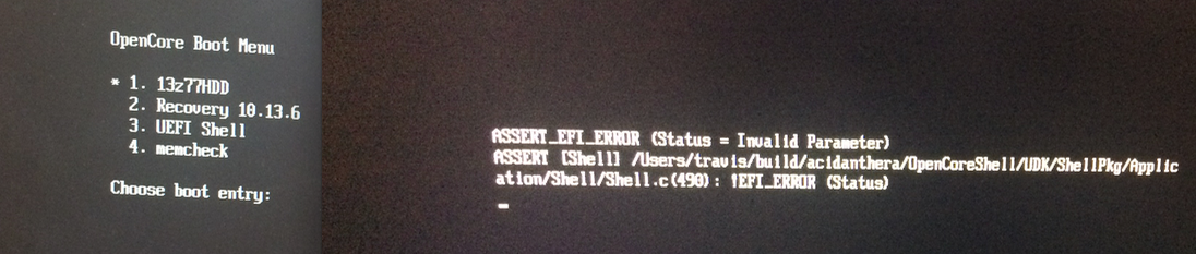 Debug Uefi Shell efi v1 1 · Issue #362 · acidanthera