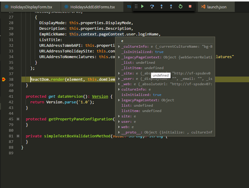 SPFx(On-prem) React WebPart - How to get current list Title and