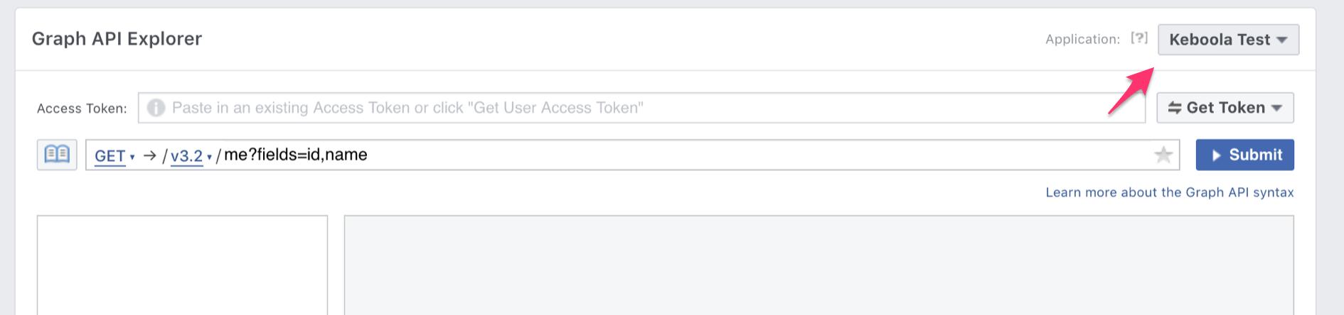 Get access token for instagram extractor via Facebook Graph API