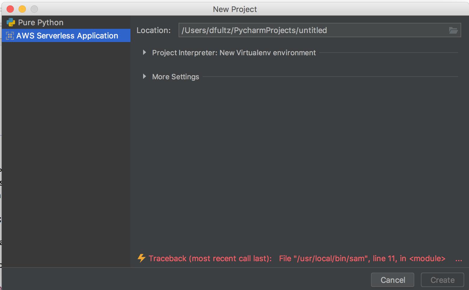 Invalid SAM CLI executable configured · Issue #577 · aws/aws-toolkit