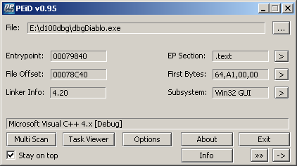 Produce byte-identical executable using the same compiler