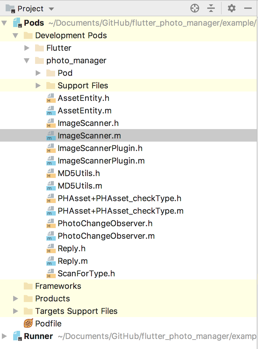 Plugin development pod folder structure is wrong in Xcode · Issue