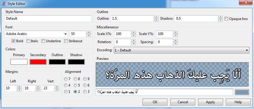 update libass or add harfbuzz !! · Issue #9 · Dador