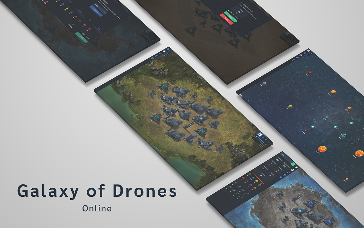 Galaxy of Drones Online