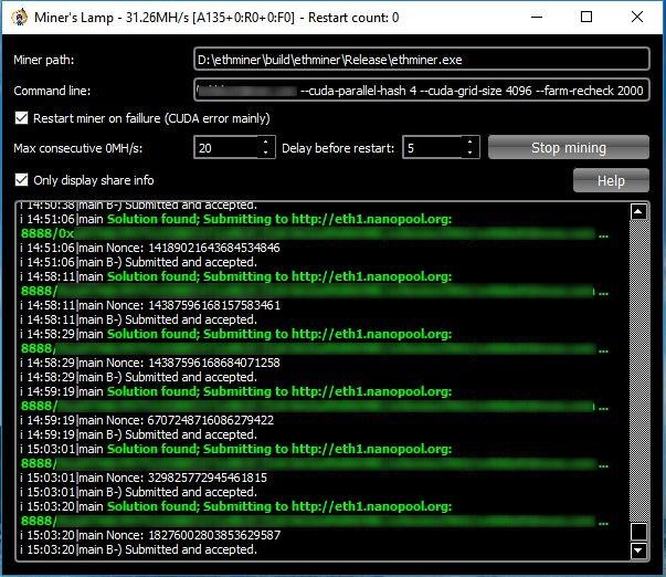 Cuda Miner Software